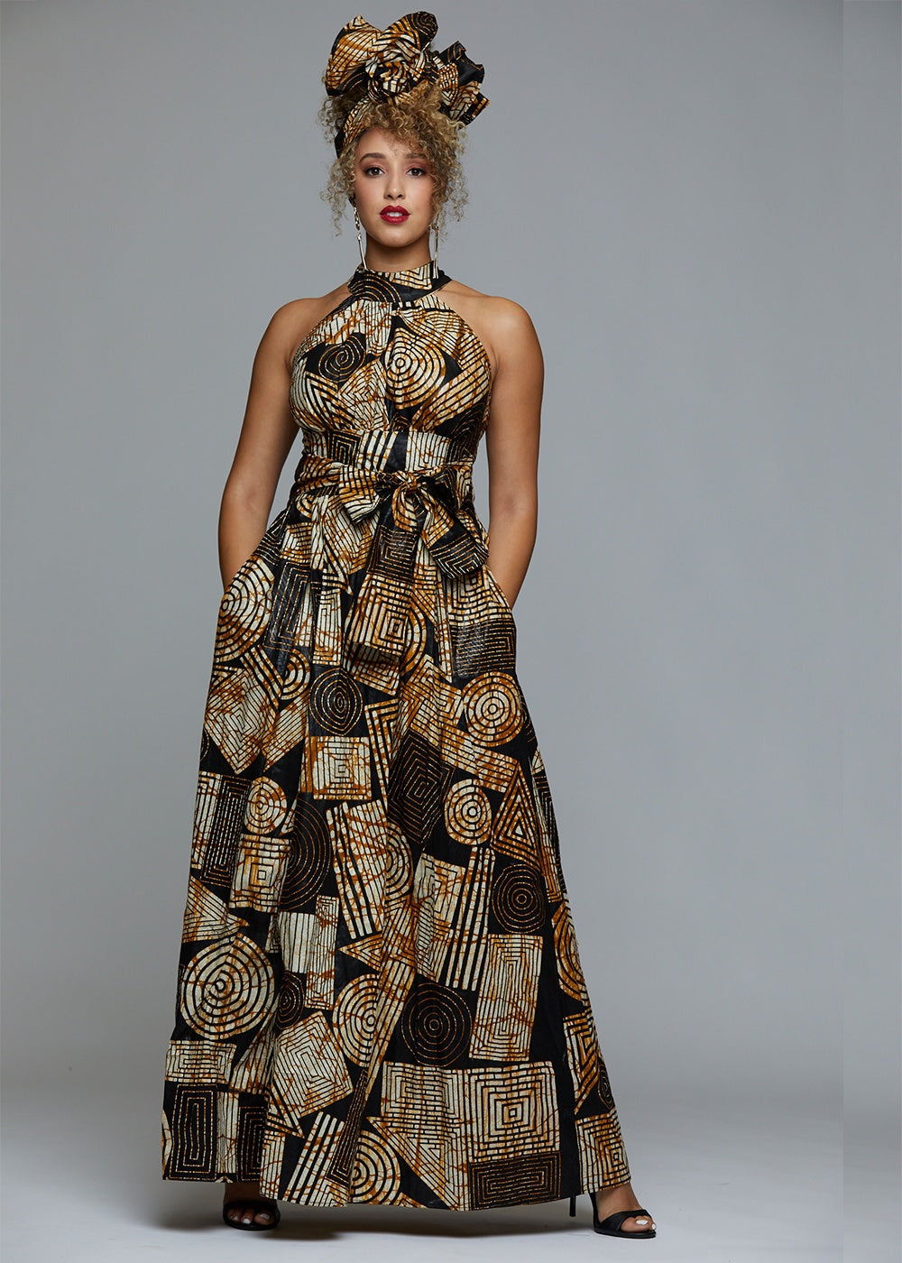 1000 Images About African Print 2 Piece Outfit On: Ronke African Print Maxi Dress