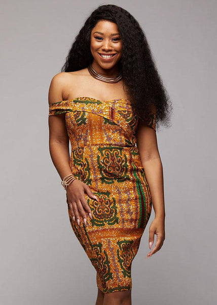 e9124976f0d African Print Dresses - African Clothing from D iyanu – D IYANU