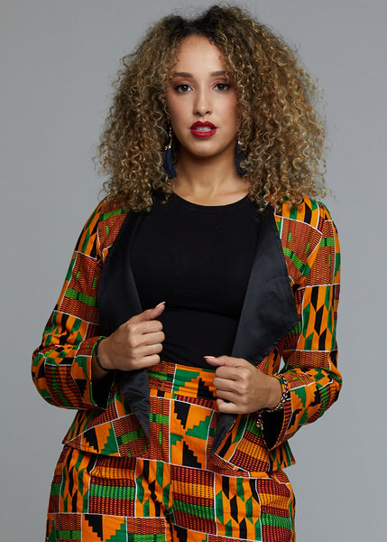 728eb4cea25 African Print Women s Outerwear - Modern African Clothing – Tagged ...