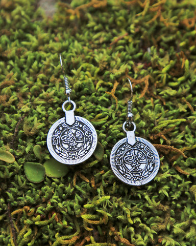 Single Coin Earrings