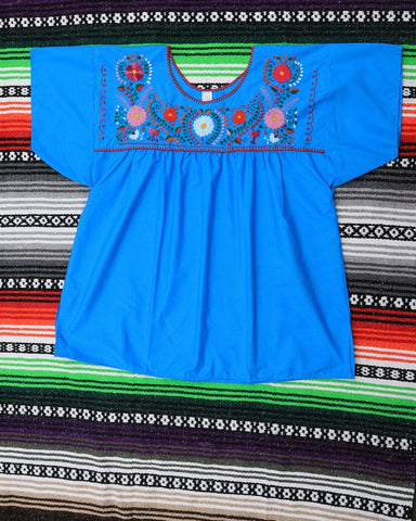 Embroidered Mexican Ladies Blouses- XLarge (20-22)