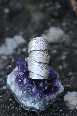 Turkish 3 Feather Cuff Ring