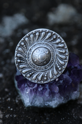 Turkish Extra Large Shield Ring