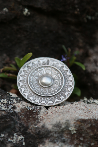 Turkish Mandala Shield Ring