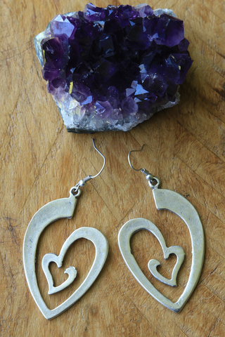 Turkish Heart Earrings