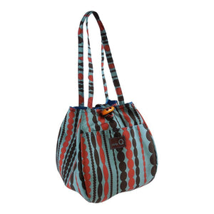 Della Q  - Rosemary Mini Tote in Silk & Limited Edition Cottons