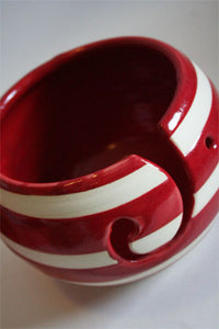 Handmade Ceramic Yarn Bowls from Pawley Studios