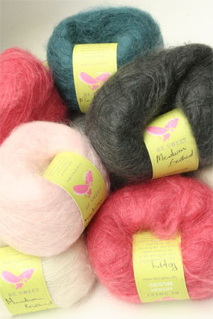 Be Sweet - Medium Brushed Mohair