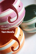 Load image into Gallery viewer, Handmade Ceramic Yarn Bowls from Pawley Studios