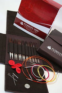 Rosewood Interchangeable Needle set by Plymouth