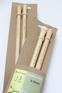 "Brittany Knitting Needles - 10"" Single Point (Pair)"