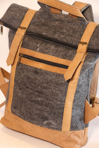 Fibres Of Life - Felt Backpack