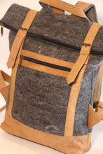 Load image into Gallery viewer, Fibres Of Life - Felt Backpack