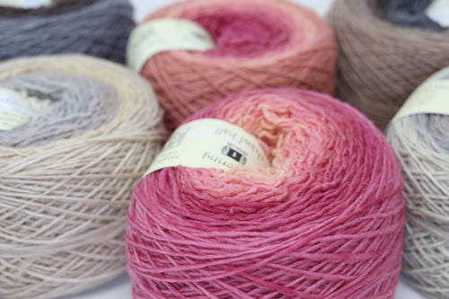 Freia Yarns - Fine Handpaints - Shawl Ball - Merino Fingering Ombre (F100)