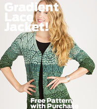 Load image into Gallery viewer, Artyarns - Gradient Lace Jacket