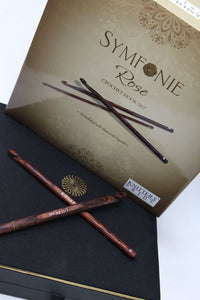 Knitters Pride - Symfonie Rose Crochet Hook with Swarovski Crystals