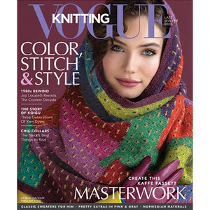 Vogue Knitting -  Late Winter 2020