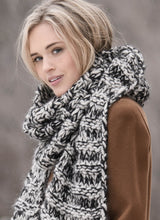 Load image into Gallery viewer, Grab & Go Kit - Big Falls Scarf (Bulky/Brushed)