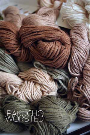 Pakucho Organic Yarn - Worsted Cotton
