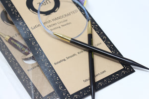 ZEN Ebony Circular Knitting Needles
