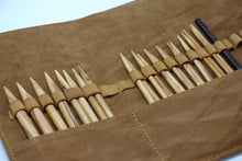 "Load image into Gallery viewer, ZEN Interchangeable Needle Set - Olivewood (5"" Tip)"