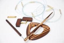 "Load image into Gallery viewer, ZEN Interchangeable Needle Set - Rosewood (5"" Tip)"