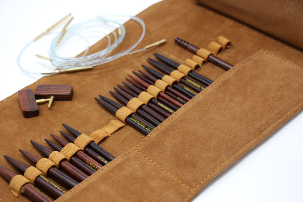 ZEN Interchangeable Needle Set - Rosewood (5