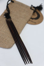 "Load image into Gallery viewer, ZEN© Sock Stix - Rosewood & Ebony 5"" Double Points"