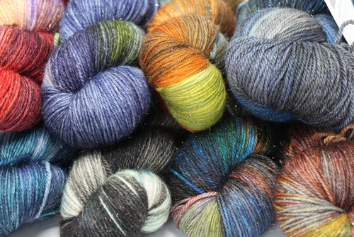 Zen Yarn Garden - Superfine Glitter Sock