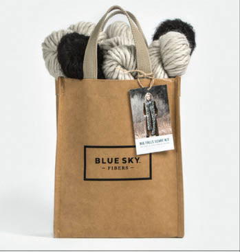 Grab & Go Kit - Big Falls Scarf (Bulky/Brushed)