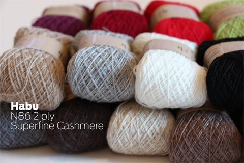 Habu Yarns - 2/26 Cashmere Yarn