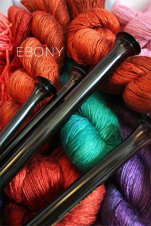 ZEN© Knitting Needles - Ebony Single Point