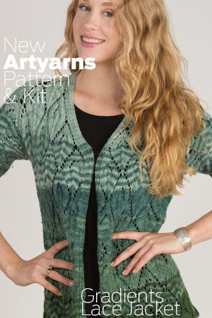 Artyarns - Gradient Lace Jacket