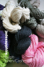 Load image into Gallery viewer, Jade Sapphire SYLPH Linen & Cashmere Yarn