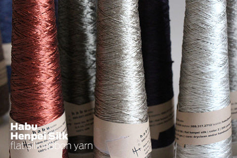 Habu Yarns - Henpei Silk Ribbon