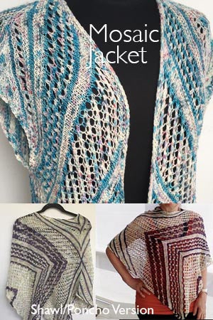Artyarns Mosaic Jacket or Shawl Kit!