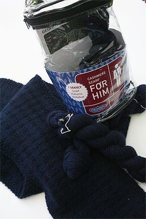 Jade Sapphire - Cashmere Scarf Kit for HIM