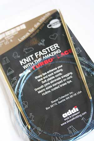 "Addi Turbo Lace 16"" (40 cm) Circular Knitting Needles"
