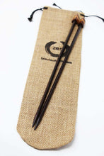 Load image into Gallery viewer, ZEN© Knitting Needles - Triangular Single Point Rosewood Knitting Needles
