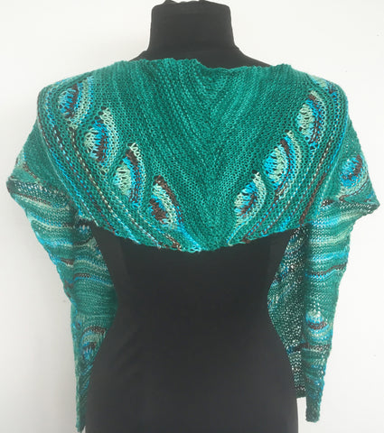 Artyarns Knitalong Kit - Peacock Shawl/Scarf (2 versions)