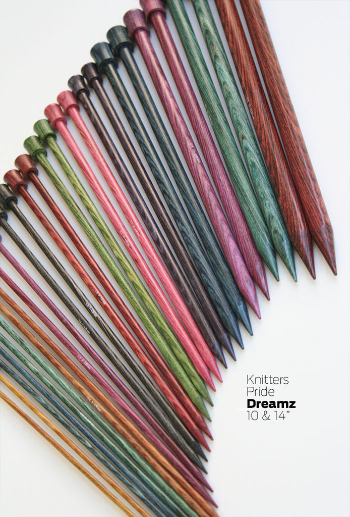 "Knitters Pride - Dreamz 10"" Single Point Knitting Needles"