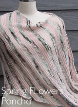 Load image into Gallery viewer, Artyarns Kit - Spring Flowers Poncho