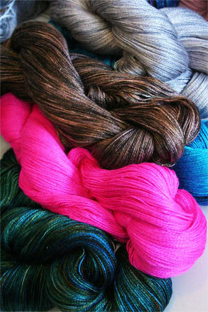 madelinetosh - silk lace yarn