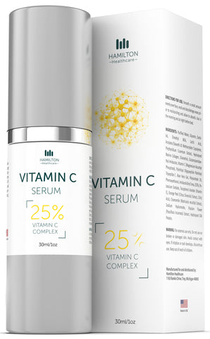 Vitamin C Serum with 25% Vitamin C & Hyaluronic & Ferulic Acid