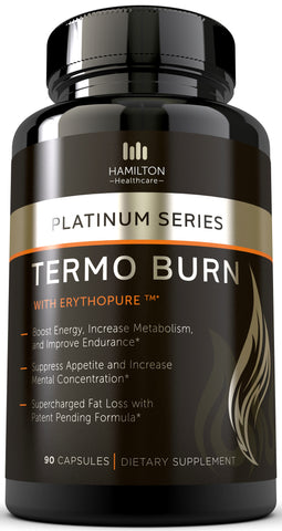 Thermogenic Fat Burner - 100% Natural & Unique Formula with Patented Ingredients
