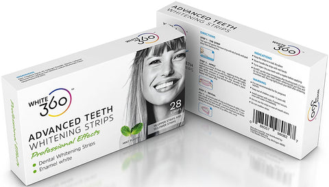 Advanced Teeth Whitening Strips - Professional Strength Whitestrips