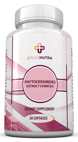 Phytoceramides Plant Derived from Rice for Skin, Hair & Cell Renewal by A Plus Nutra