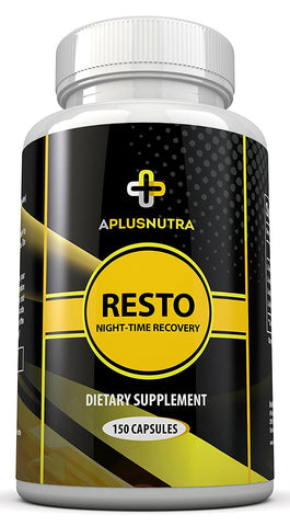 RESTO - Nightime Recovery Amino Acid and BCAA Post Workout by A Plus Nutra