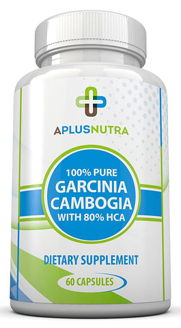 80% HCA Super Strength Garcinia Cambogia with No Calcium by A Plus Nutra