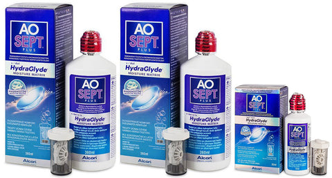 AO Sept Plus with HydraGlyde - Economy Pack (3 Bottles)